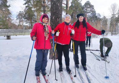 Поздравляем победителей лыжной эстафеты!